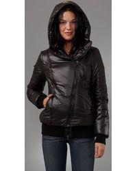 Mackage - Black Melanie Hooded Puffer Jacket - Lyst