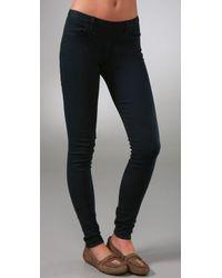 Madewell | Blue Back Zip Legging Jeans | Lyst
