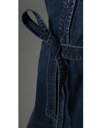 Marc By Marc Jacobs | Blue Vintage Denim Dress | Lyst