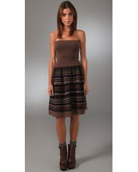 Marc By Marc Jacobs | Multicolor Buzzy Fair Isle Dress / Skirt | Lyst