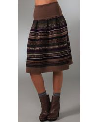 Marc By Marc Jacobs - Multicolor Buzzy Fair Isle Dress / Skirt - Lyst