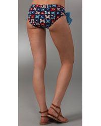 Marc By Marc Jacobs - Blue Violet Garden Hipster Bikini Bottoms - Lyst