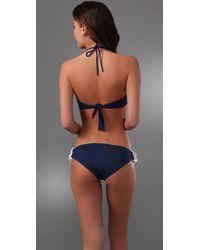 Melissa Odabash - Blue Luxor Bandeau Bikini - Lyst