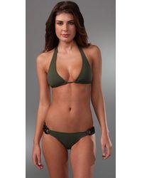 Melissa Odabash - Green Yasmin Bikini - Lyst