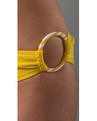 MILLY - Yellow Barbados Bikini Bottoms - Lyst