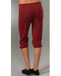 Monrow - Red Vintage Sweats - Lyst