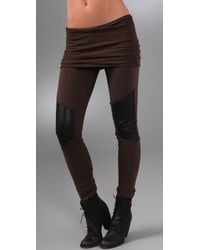 Nightcap | Brown Motorcycle Leggings | Lyst