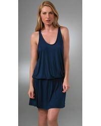 Rachel Pally | Blue Slouchy Tank Dress | Lyst