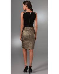 Rachel Roy - Boucle Metallic Sheath Dress - Lyst