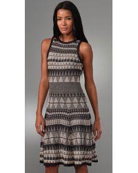 Rachel Roy - Blue Sleeveless Knit Dress - Lyst