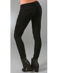 Rag & Bone | Black Liverpool Stretch-jersey Pants | Lyst