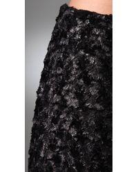 Rebecca Minkoff - Black Lola Miniskirt - Lyst