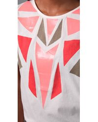 Sass & Bide - Natural Committed To Create Tank - Lyst