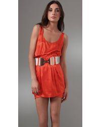 Sass & Bide - Red The Botanist Dress - Lyst