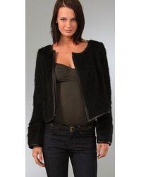 Smythe - Black Cocoon Jacket - Lyst