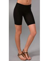 Splendid | Black Stretch Bike Shorts | Lyst