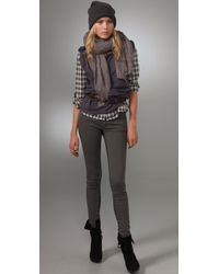 Superfine - Gray Legging Jeans - Lyst