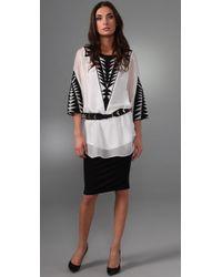 Temperley London - White Antonia Tunic - Lyst