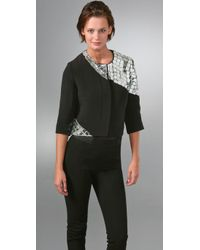 Thakoon | Black Disco Mirror Jacket | Lyst