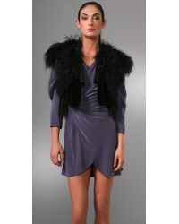 Thakoon | Black Mongolian Fur Gilet | Lyst