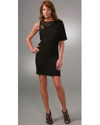 Tony Cohen | Black One Shoulder Dress | Lyst