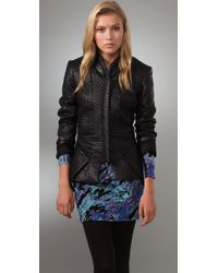 Torn By Ronny Kobo | Black Selma Quilted Jacket | Lyst