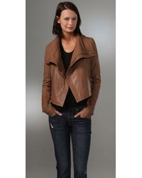 VEDA | Brown Max Classic Jacket | Lyst