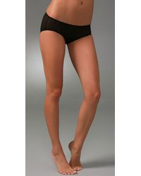 VPL | Black Cropper Smalls Panties | Lyst