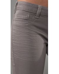 William Rast - Gray Sienna Legging Jeans - Lyst