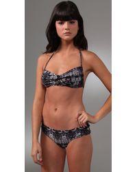 Zimmermann | Black Copy Cat Halter Bikini | Lyst