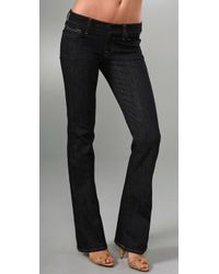 7 For All Mankind | Blue Boot Cut Jeans | Lyst