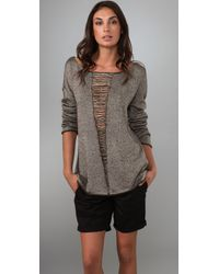 Elizabeth and James | Gray Belinda Pullover Sweater | Lyst