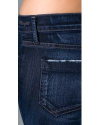 Goldsign | Blue Misfit Legging Jeans | Lyst
