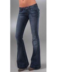 Hudson Jeans | Blue Woodstock Flap Pocket Flare Jeans | Lyst