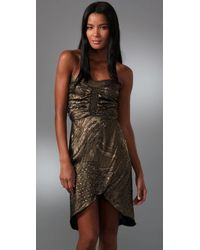 Karen Zambos | Metallic Lilah Dress | Lyst