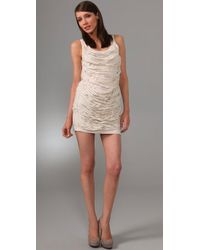 Larok   White Delicate Frayed Dress   Lyst