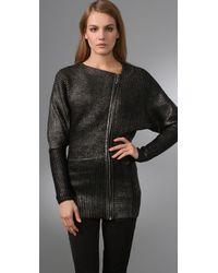 Mara Hoffman - Black Oil Slick Sweater - Lyst