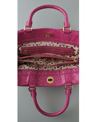 Marc By Marc Jacobs - Pink Ozzie Square Lucy Faux Leather Tote - Lyst