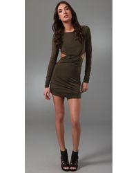 Pencey - Green Open Back Dress - Lyst