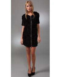 Sachin & Babi - Black Lily Cap Sleeve Tulle Dress - Lyst