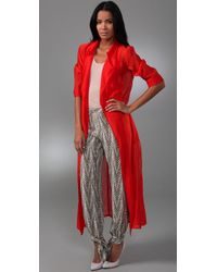 Sass & Bide - Red The Same Time Jacket - Lyst