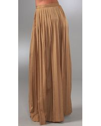 Shakuhachi - Brown Pleats Please Long Skirt - Lyst