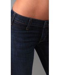 Textile Elizabeth and James - Blue Jimi Bell Bottom Jeans - Lyst