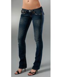 True Religion | Billy Pony Dark Blue Jeans | Lyst