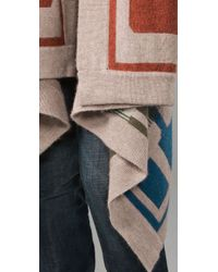 Twelfth Street Cynthia Vincent | Multicolor Blanket Sweater | Lyst