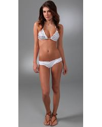 Inca - White Vivienne Bikini - Lyst