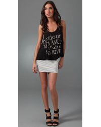 Torn By Ronny Kobo - Black Tracy French Lesson Swing Tank - Lyst