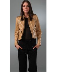 Adam Lippes | Natural Safari Jacket with Zipper Pocket | Lyst