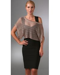 Foley + Corinna | Metallic Crochet Top | Lyst