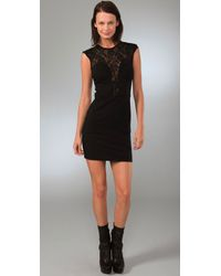 Plastic Island | Black Kiki Lace Dress | Lyst